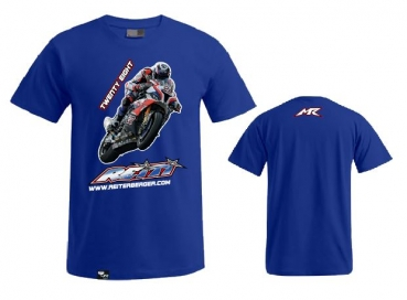 T-Shirt Wheelie royal